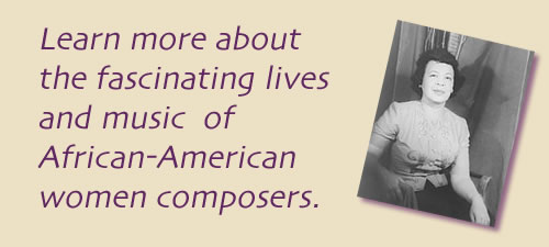 African American Women Composer Resources